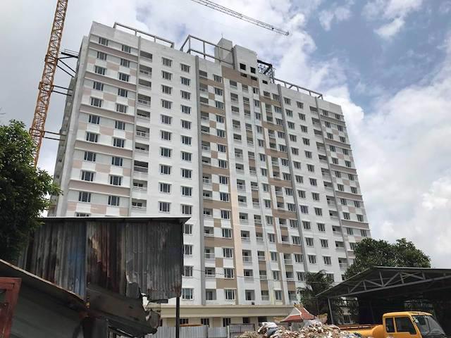 Người mua nhà ở xã hội tại dự án Tân Bình Apartment mệt mỏi vì không biết bao giờ mới có nhà.