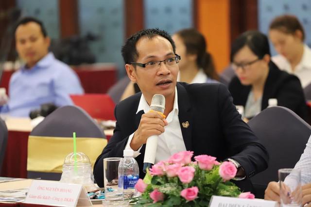Ông Nguyễn Hoàng Giám đốc Bộ phận Nghiên cứu Thị trường DKRA Việt Nam.