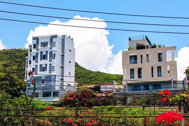 Dự án Khu Biệt thự Nha Trang - Seapark xuất hiện các biệt thự xây dựng vượt tầng.(Ảnh: Báo Khánh Hoà)