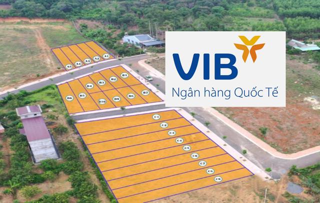 Dự án Hắc Dịch LakeView được giới thiệu là có ngân hàng VIB hỗ trợ cho vay lên 70% giá trị lô đất