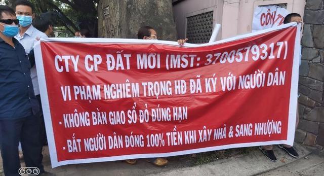 Bình Dương: Khách hàng kêu cứu, đòi sổ hồng ở dự án của Công ty Đất Mới - Doanh nghiệp Việt Nam - Ảnh 3