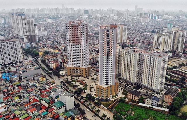 """Giữa cơn """"sốt đất"""", giá chung cư Hà Nội vẫn """"âm thầm"""" tăng mạnh? - Ảnh 1"""