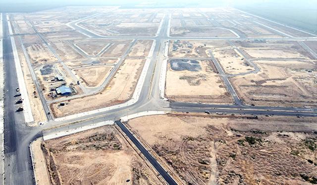 Dự án sân bay Long Thành đang giải phóng mặt bằng.