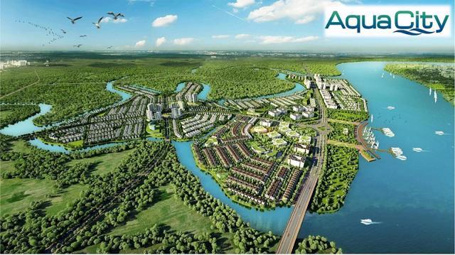 Điều chỉnh quy hoạch 1/500 KĐT Aquacity tại Đồng Nai - Ảnh 1
