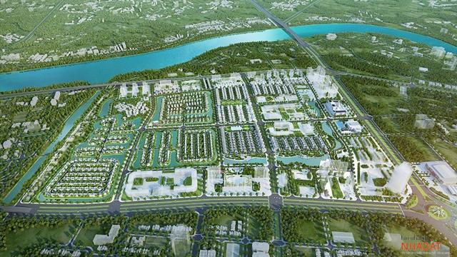 Phối cảnh dự án Vinhomes Star City được Tập đoàn Vingroup đầu tư tại Thanh Hóa.