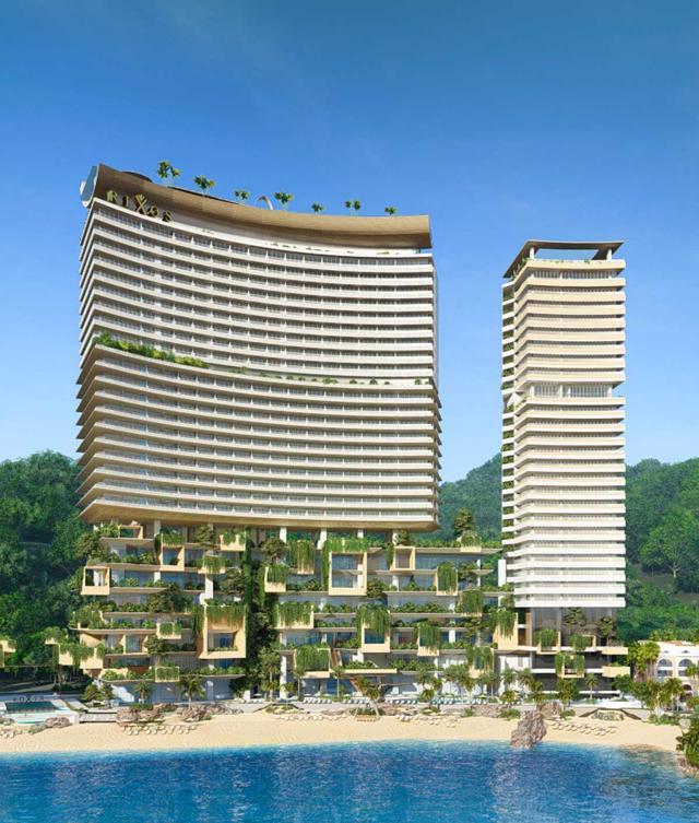 Phối cảnhdự án căn hộ nghỉ dưỡng Vega City Nha Trang