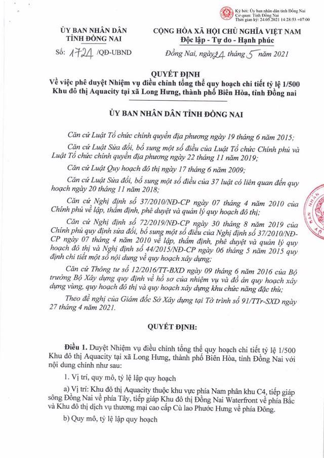 Tin nóng bất động sản tuần qua (24 - 29/5/2021) - Ảnh 5
