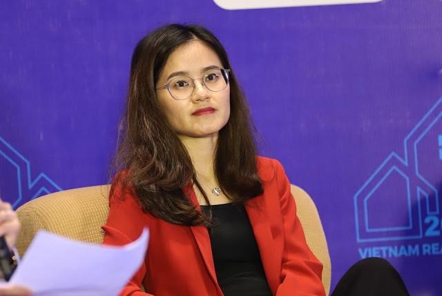 Bà Nguyễn Hồng Vân – Giám đốc Thị trường Hà Nội, JLL Việt Nam