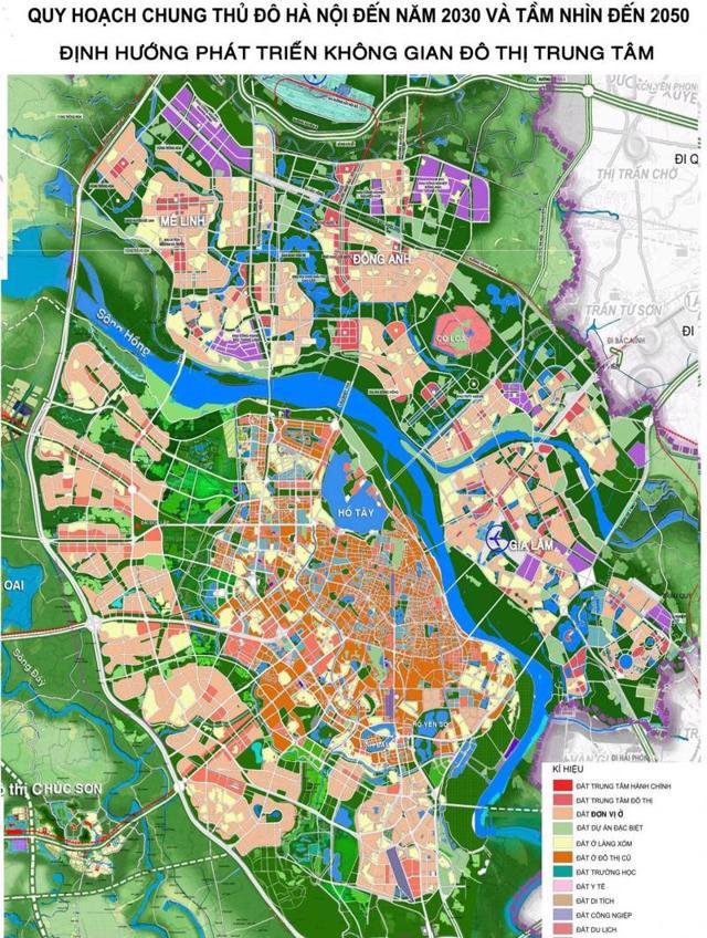 Hà Nội điều chỉnh quy hoạch chung Thủ đô sau 10 năm - Ảnh 1