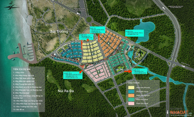 Phối cảnh dự án Meyhomes Capital Phú Quốc – dự án đầu tay của Tập đoàn Tân Á Đại Thành.