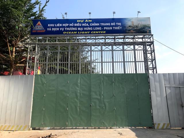 Dự án Hồ Điều Hòa, chỉnh trang đô thị, tại phường Hưng Long, TP Phan Thiết có tên giao dịch là Ocean Light Center.