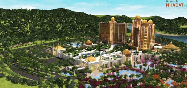 Phối cảnh dự án Khu phức hợp nghỉ dưỡng Vân Đồn – Ảnh: Sun Group