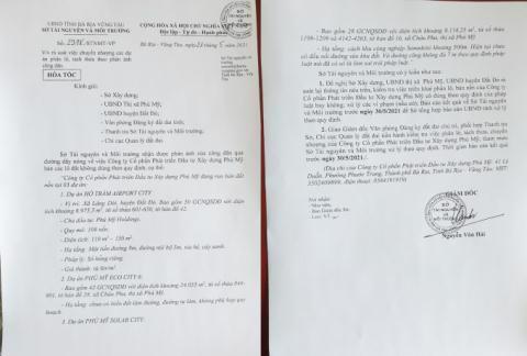 Bà Rịa - Vũng Tàu: Hàng loạt dự án phân lô, Sở TN&MT tuýt còi sau khi tách thửa hàng loạt - Ảnh 1