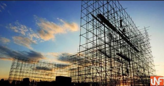 Trên một công trình xây dựng của Tiến Bộ Group.