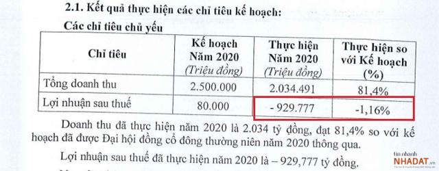 Nguồn: Tài liệu ĐHĐCĐ thường niên 2021 của DLG.