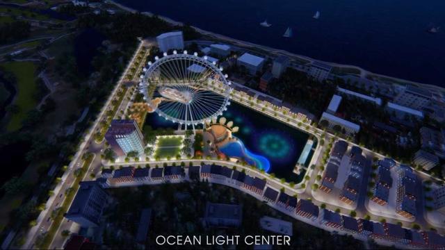 Phối cảnh dự ánOcean Light Center Phan Thiết.