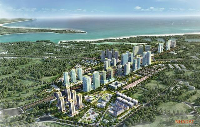 Phối cảnh dự án Khu đô thị mới Bắc Vũng Tàu.