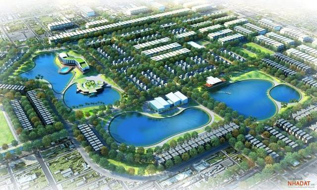 Phối cảnh dự án KĐT Nam Vĩnh Yên do DIC Corp làm chủ đầu tư.