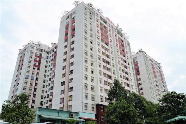 Chung cư Thái An 3 và 4, thuộc quận 12, TP.HCM là dự án đầu tiên trên cả nước được Bộ Xây dựng chấp thuận cho làm căn hộ thương mại diện tích tối thiểu 25 m2.