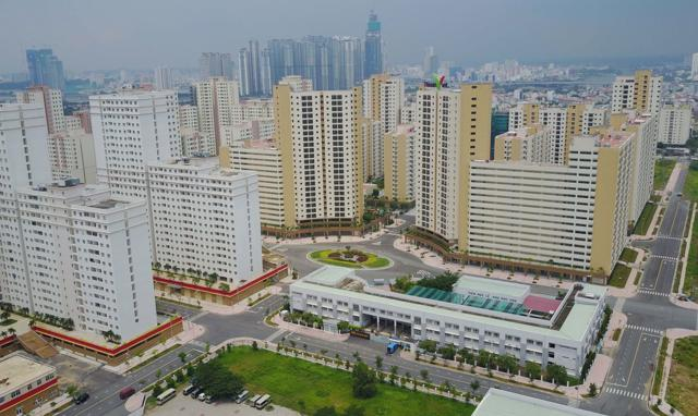 TP.HCM sẽ đấu giá 3.790 căn nhà thuộc 5 toà nhà chung cư có nguồn gốc tái định cư tại phường Bình An, thành phố Thủ Đức, nằm liền kề với Khu đô thị mới Thủ Thiêm