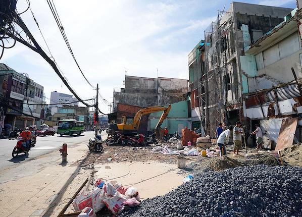 TP.HCM đang tập trung giải phóng mặt bằng tuyến metro số 2 (Bến Thành - Tham Lương) để chuẩn bị khởi công.