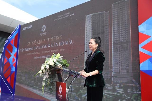 Bà Lâm Thị Thúy – Tổng Giám đốc MB Land.