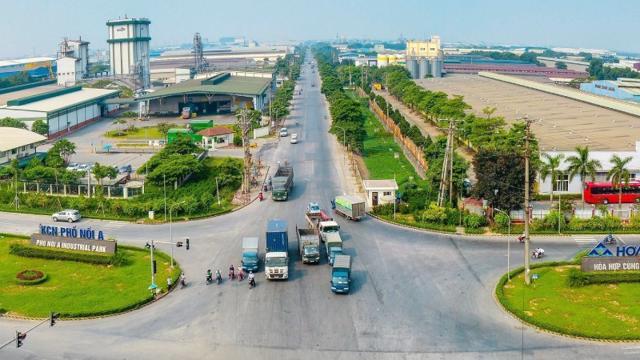 Bất động sản công nghiệp Việt Nam đón nhiều dự án mới dù dịch bệnh phức tạp.