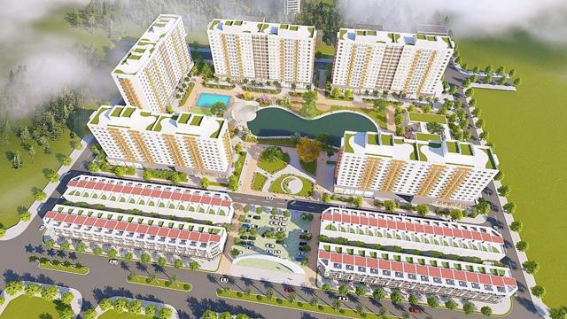 Phối cảnh dự án Ecohome Nhơn Bình.