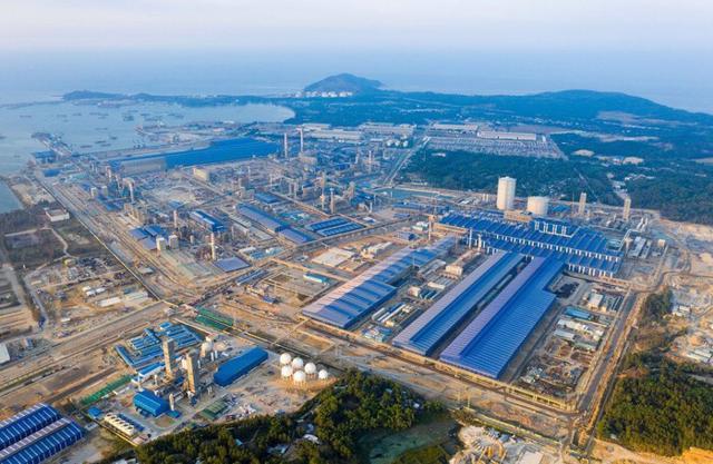 """""""Siêu dự án"""" 85.000 tỷ của Hòa Phát tại Quảng Ngãi đang được triển khai đến đâu? - Ảnh 1"""