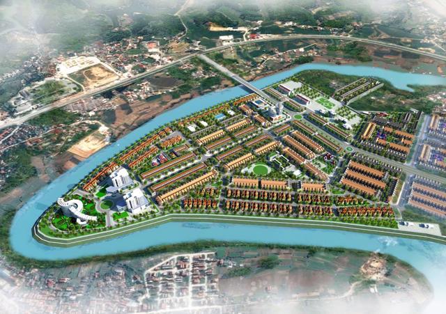 Dự án Khu đô thị mới Mai Pha (91,73 ha) thành phố Lạng Sơn đang trong giai đoạn GPMB.