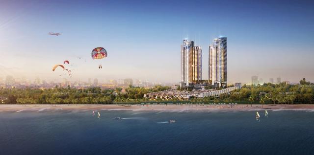 The Seahara Mũi Né (Bình Thuận) có quy mô 5ha tổng mức đầu tư 2.332 tỷ đồng dự kiến sẽ được triển khai trong năm 2021.