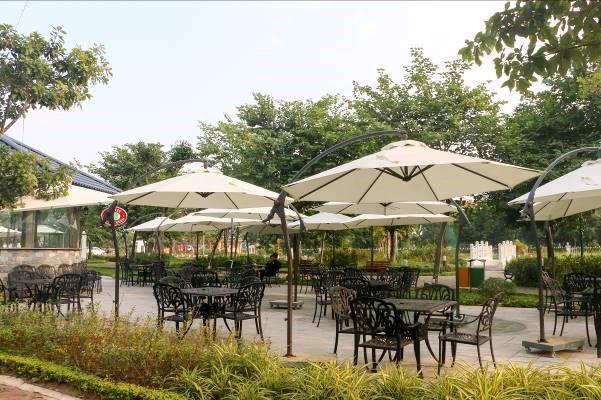 """Một góc xanh cực """"chill"""" tại Eco City Việt Hưng"""