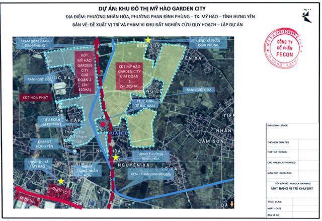 Lấn sân sang bất động sản, Fecon muốn làm dự án hơn 200 ha tại Hưng Yên - Ảnh 1