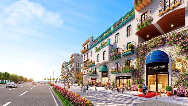 Phối cảnh Boutique Hotel – sản phẩm mới ra mắt tại NovaWorld Phan Thiet đang thu hút sự quan tâm của khách hàng.
