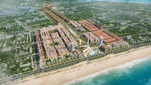 Phân đoạn 1 thuộc dự án Quảng trường biển – Tổ hợp đô thị du lịch sinh thái, nghỉ dưỡng, vui chơi giải trí cao cấp biển Sầm Sơn