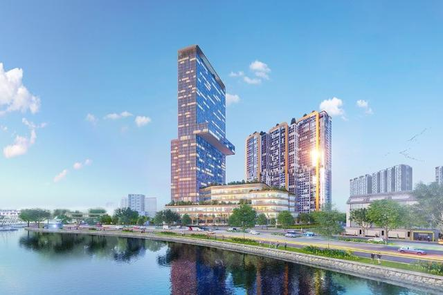 Phối cảnh Dự án Dragon Riverside City (quận 5) do Tập đoàn Sovico làm chủ đầu tư.