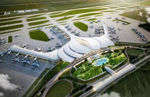 UBND TP.HCM mong muốn có đường sắt nối sân bay quốc tế Tân Sơn Nhất tới thẳng sân bay quốc tế Long Thành.