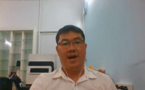 CEO doanh nghiệp 500.000 tỷ Nguyễn Vũ Quốc Anh livestream cho biết bản thân không có tiền, ở nhà cấp 4, đi xe máy nhưng rất giàu chất xám