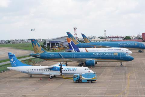 Sân bay Nội Bài đang được nghiên cứu mở rộng.