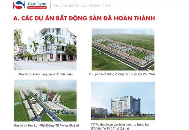 Một số dự án đã được Gami Group hoàn thành (Nguồn: Gamigroup.com)
