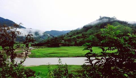 Dự án Sân Golf Kon Plong được quy hoạch tại thị trấn Măng Đen, Kon Tum - Ảnh: Baodautu