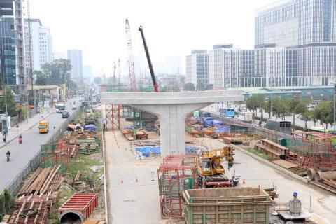 Hà Nội sẽ thi công dự án giao thông vào ban ngày để tăng tốc giải ngân vốn đầu tư công? Ảnh minh họa: Báo Chính phủ.