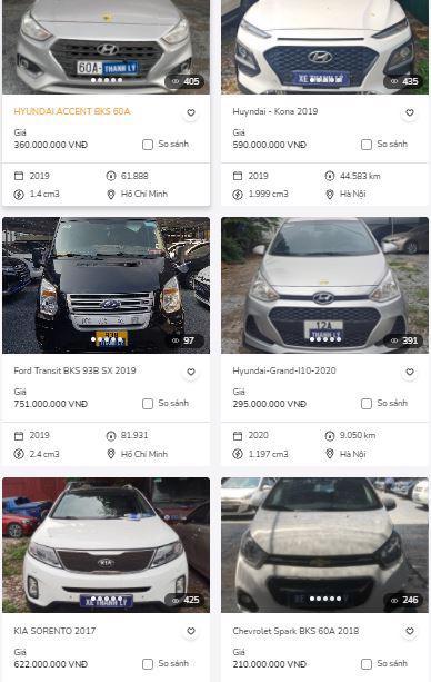 VIB dồn dập rao bán ô tô.