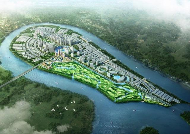 Dự án khu Đô thị du lịch sinh thái Đại Phước có quy mô tới 464,4ha.