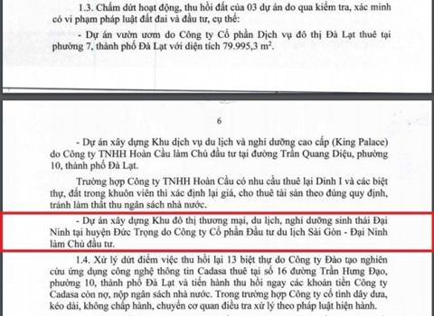 Thanh tra Chính phủ kiến nghị thu hồi siêu dự án, ông Nguyễn Cao Trí nói gì? - Ảnh 1