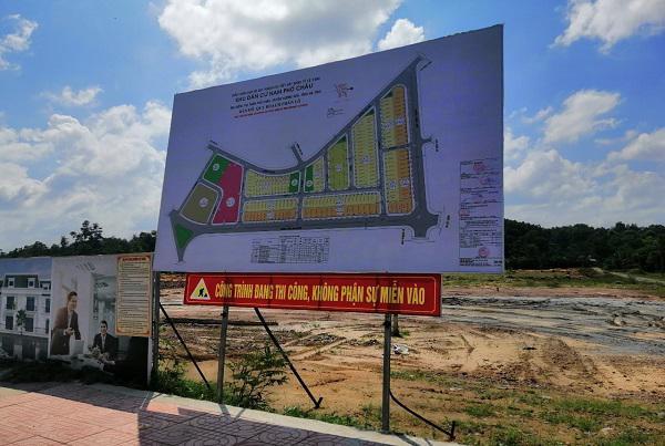 Dự án Khu dân cư Bắc Phố Châu