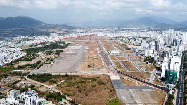 Sân bay Nha Trang cũ, dùng để hoàn vốn cho các dự án BT về giao thông tại Khánh Hòa. (Ảnh: IT)