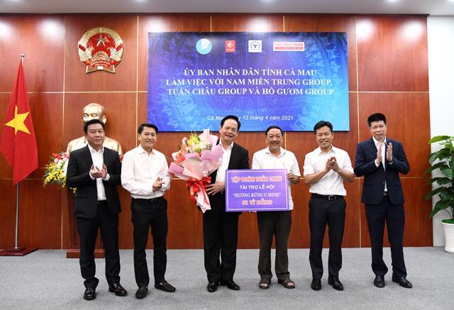 Nam Miền Trung Group cùngTuần Châu Group và Hồ Gươm Group đang muốn đầu tư vào Cà Mau.