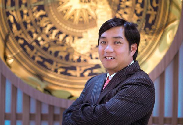 Ông Hồ Minh Hoàng - chủ tịch HĐQT Tập đoàn Đèo Cả, phó chủ tịch HĐQT Hưng Thịnh Incons.