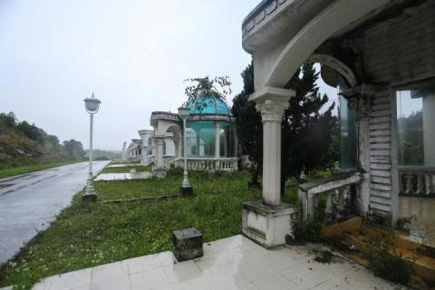 Công trình không phép bên trong KĐT Đại Ninh.